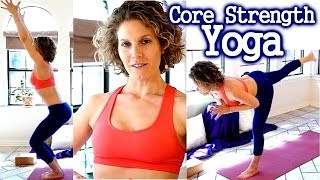 Weight Loss Yoga Intermediate Workout for Abs & Core Strength 20 Minute Toning
