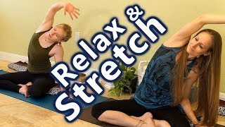 Yoga for Relaxation and Stress Relief, Beginners Home Stretching Exercises Workout, Austin Tx