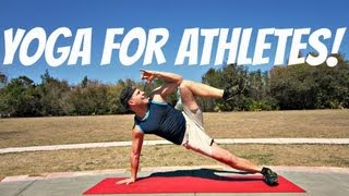 POWER Yoga for Athletes - 15 min Advanced Workout!