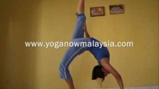 Advanced  Yoga Asana Demonstration