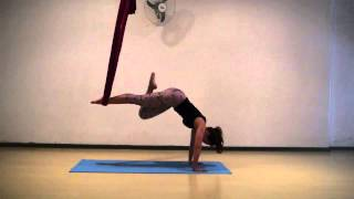 Aerial Yoga by Alessandra Machemer