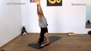 YOGA - Advanced Asanas / Lotus Vinyasa / Inversions and Hip opening.