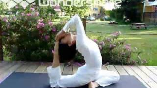 # 103 Sivananda Yoga Farm  Grass Valley Calif. USA  Advanced Asana Demo # 2.