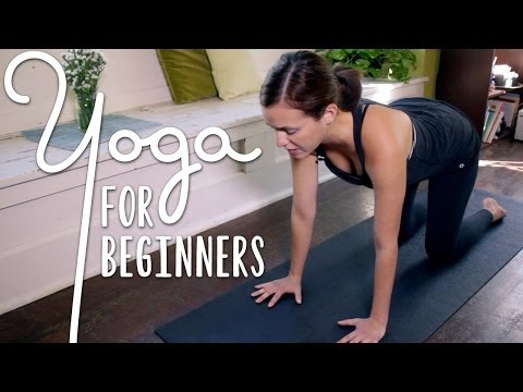 Yoga For Complete Beginners - 20 Minute Home Yoga Workout!