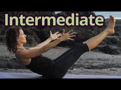 Yoga Class #3 w/Dagmar Vinyasa Flow - Intermediate - Energizing Sunrise Practice with Hang Music
